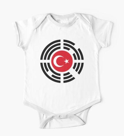 Korean Turkish Multinational Patriot Flag Series Kids Clothes