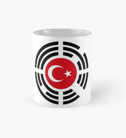 Korean Turkish Multinational Patriot Flag Series Mug