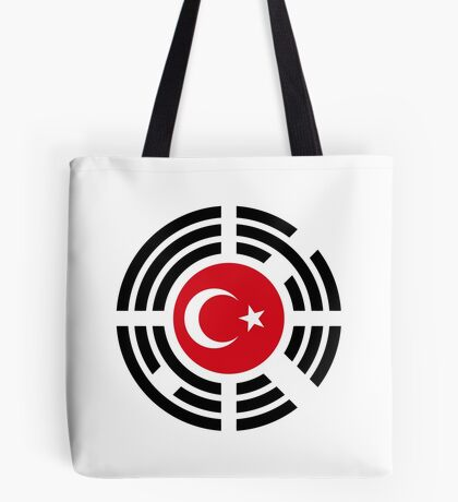 Korean Turkish Multinational Patriot Flag Series Tote Bag