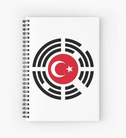 Korean Turkish Multinational Patriot Flag Series Spiral Notebook