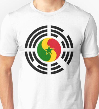 Korean Senegalese Multinational Patriot Flag Series T-Shirt