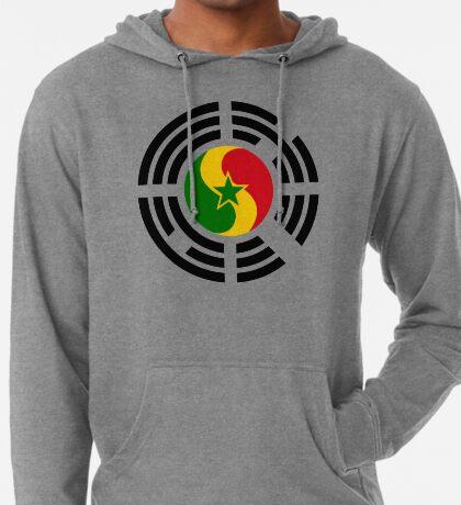 Korean Senegalese Multinational Patriot Flag Series Lightweight Hoodie