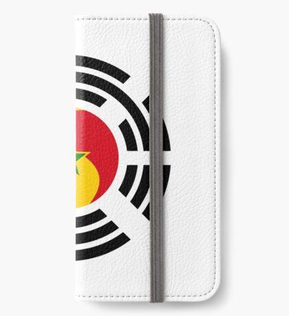Korean Senegalese Multinational Patriot Flag Series iPhone Wallet