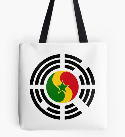 Korean Senegalese Multinational Patriot Flag Series Tote Bag