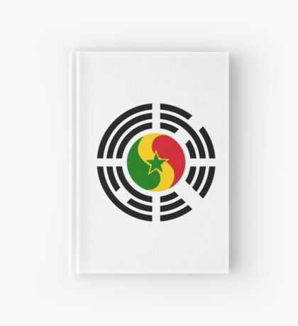 Korean Senegalese Multinational Patriot Flag Series Hardcover Journal
