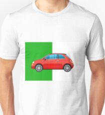 Fiat 500 pop art car T-Shirt