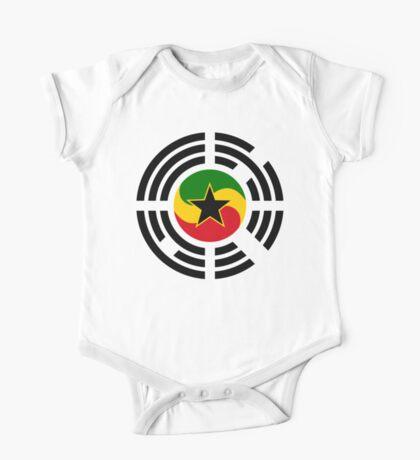 Korean Ghanaian Multinational Patriot Flag Series Kids Clothes