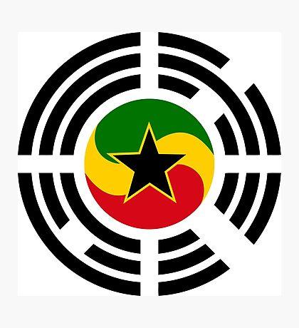 Korean Ghanaian Multinational Patriot Flag Series Photographic Print