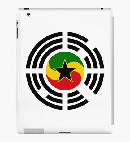 Korean Ghanaian Multinational Patriot Flag Series iPad Case/Skin