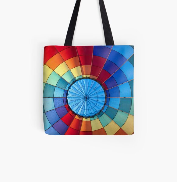 Bullseye  All Over Print Tote Bag