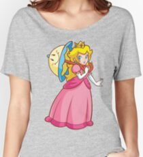 Princess Peach! - Perry Women's Relaxed Fit T-Shirt