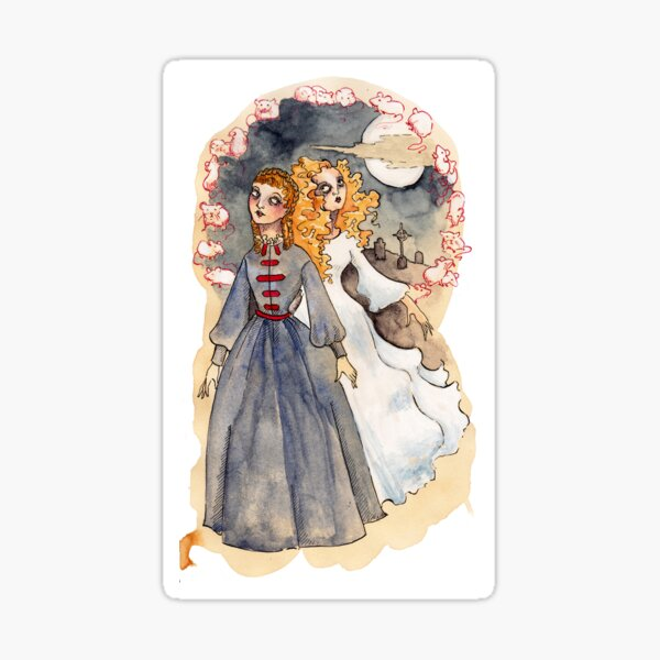 The Woman In White by Wilkie Collins Sticker