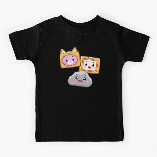 foxy and Boxy and rocky, lankybox Kids T-Shirt