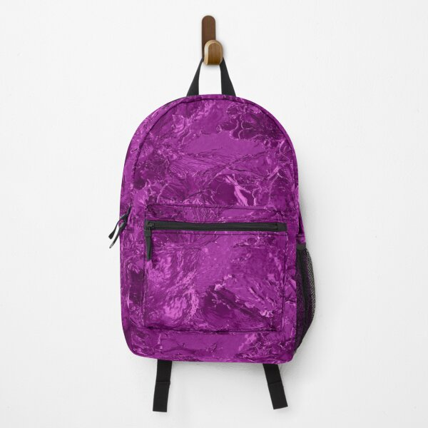 glamour 016 purple colors Foil Backpack