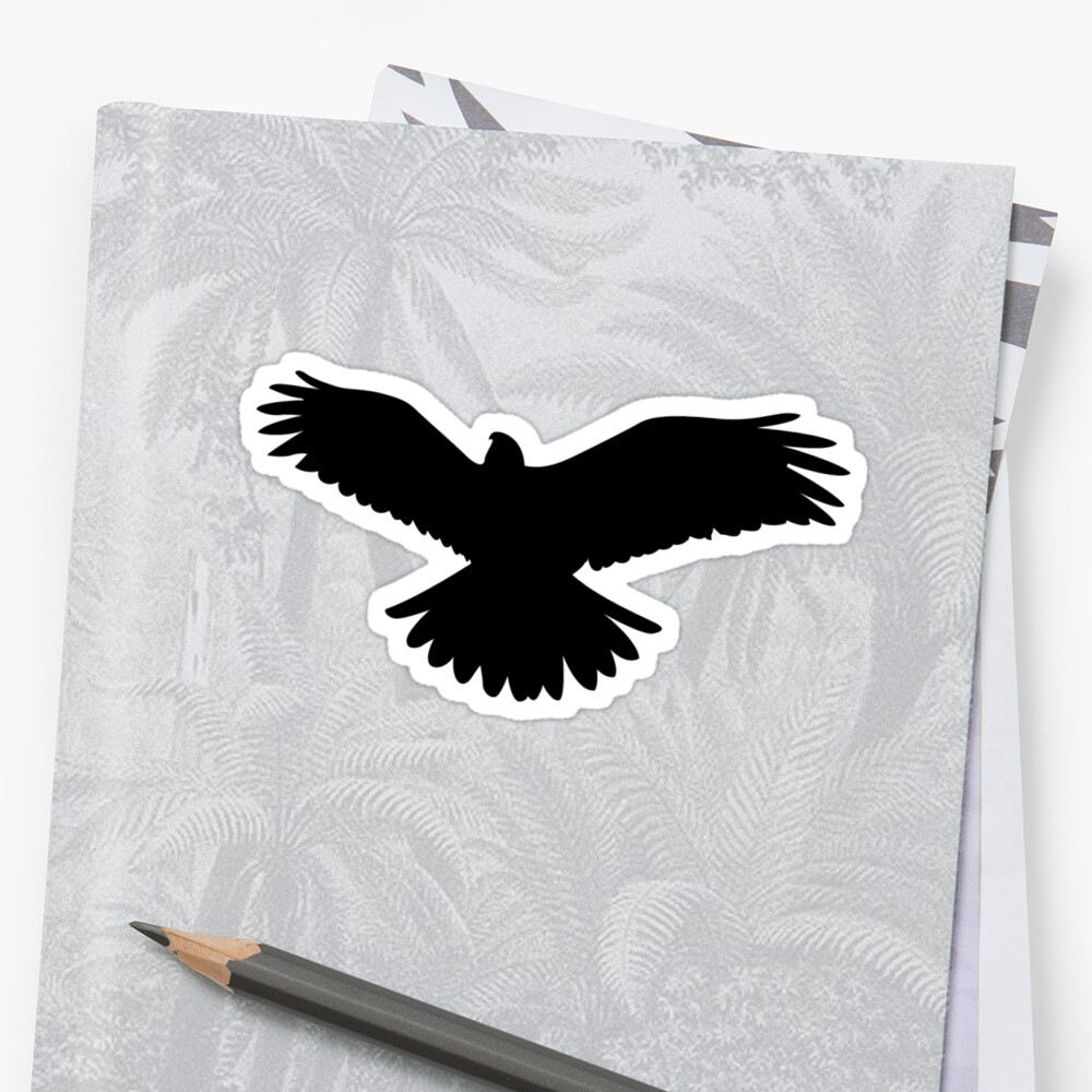 It is a graphic of Sizzling Printable Hawk Silhouette for Window