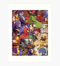 New Age Of Heroes Art Print
