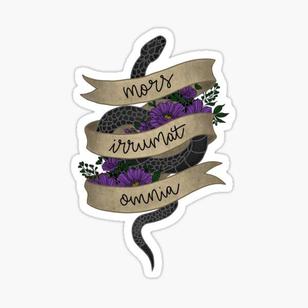 Death f*cks us all Sticker