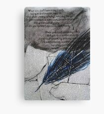 the quill Canvas Print