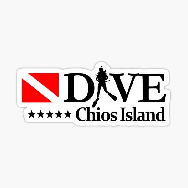 Chios Island (DV4) Sticker