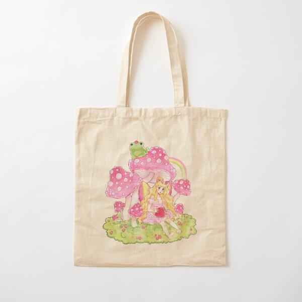 Pastel Pixie Cotton Tote Bag