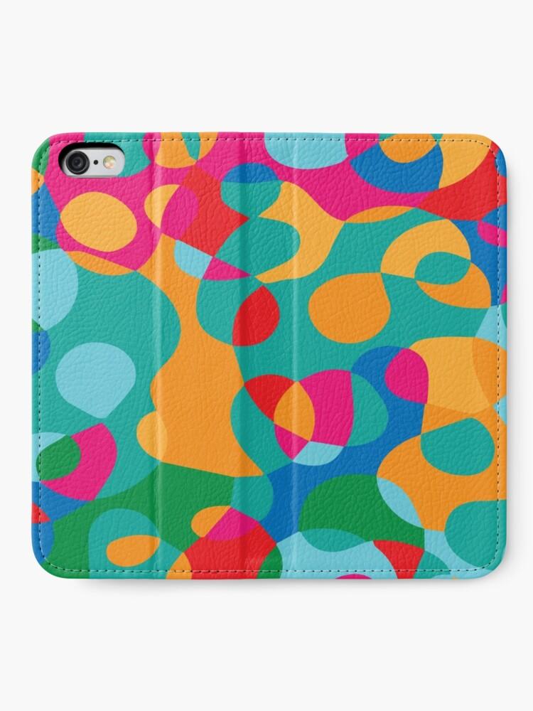 Alternate view of Jelly Bean SPLAT iPhone Wallet
