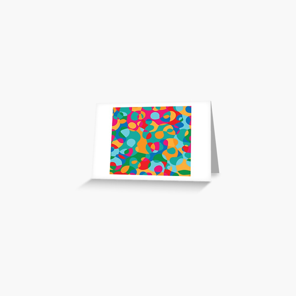 Jelly Bean SPLAT Greeting Card