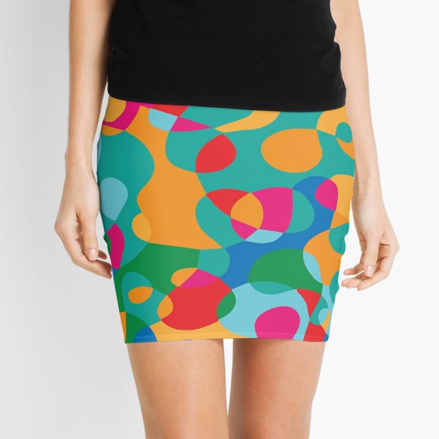 Jelly Bean SPLAT Mini Skirt