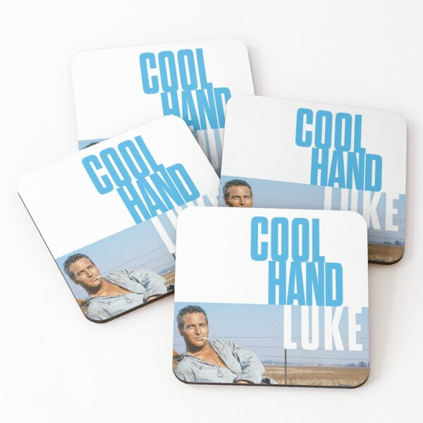 Cool Hand Luke Stuart Rosenberg vintage Coasters (Set of 4)
