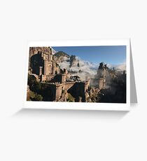 Castle Greeting Card