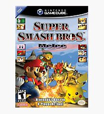 super smash brothers melee Photographic Print