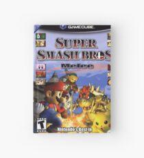 Cuaderno de tapa dura Super smash brothers melee para el nintendo gamecube