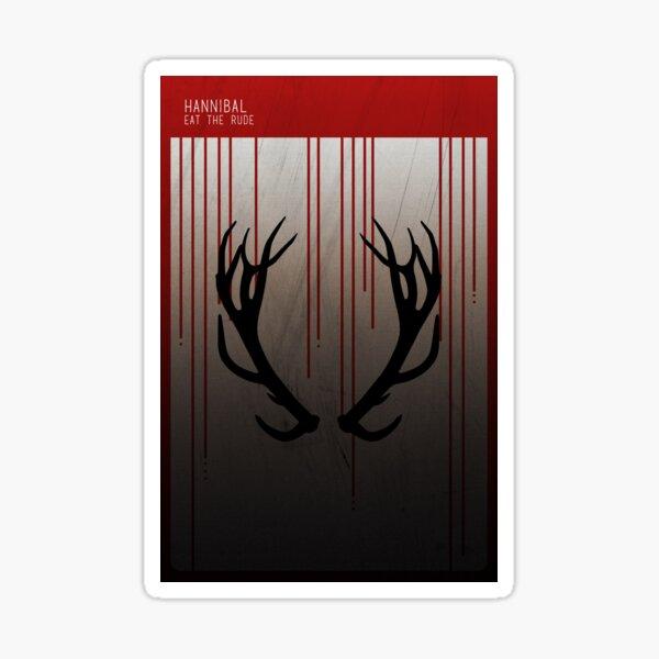 Hannibal Minimalist Sticker