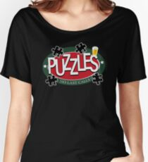 PUZZLES BAR - NO LAST CALLS! Women's Relaxed Fit T-Shirt