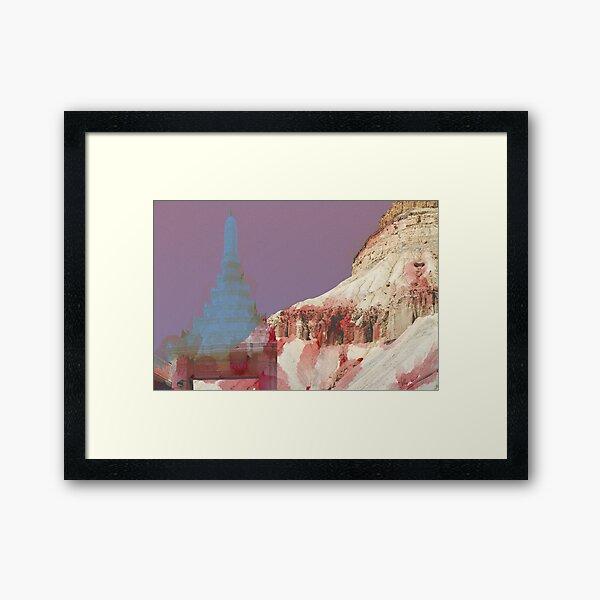 Bangkok meets Canyonlands Framed Art Print