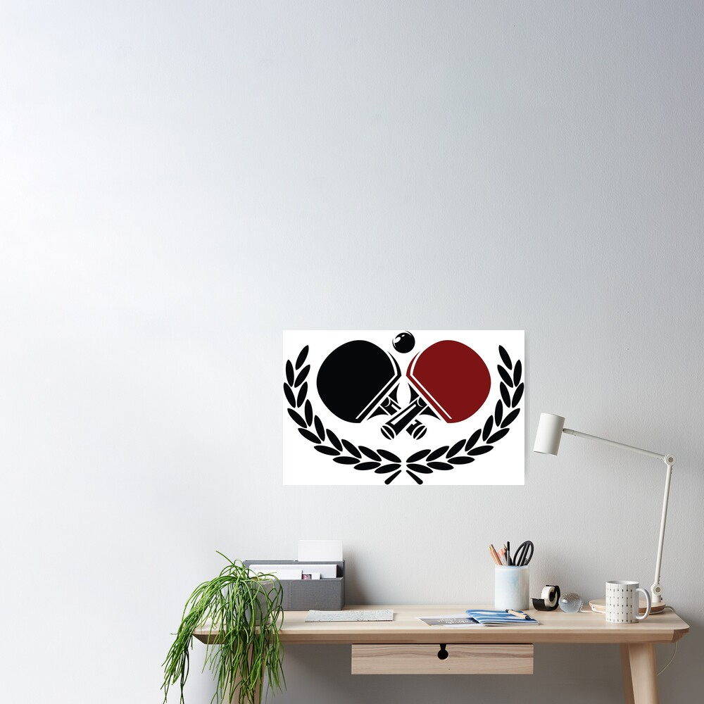 Table tennis logo Poster