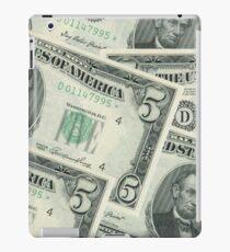 Abraham Lincoln 5 Dollar Bill iPad Case/Skin