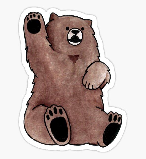 Grizzly Bear by vneubronner