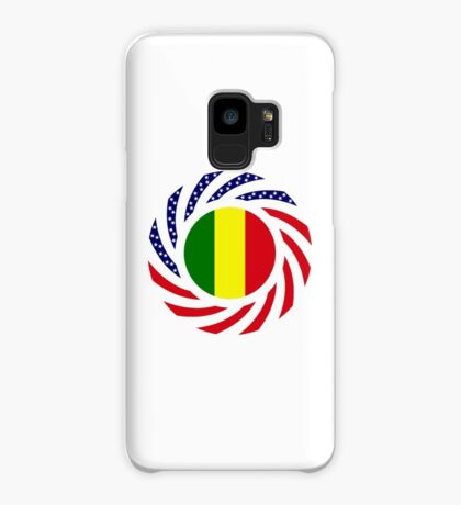 Mali American Multinational Patriot Flag Series Case/Skin for Samsung Galaxy