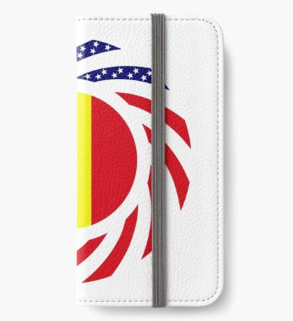 Mali American Multinational Patriot Flag Series iPhone Wallet