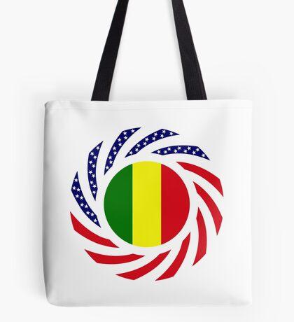 Mali American Multinational Patriot Flag Series Tote Bag