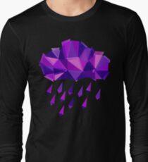 Purple Rain Pattern - Dark version T-Shirt