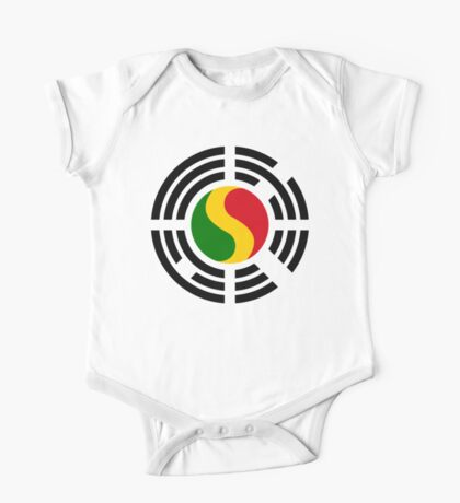 Korean Mali Multinational Patriot Flag Series Kids Clothes