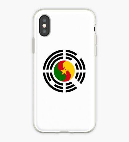 Korean Cameroonian Multinational Patriot Flag Series iPhone Case