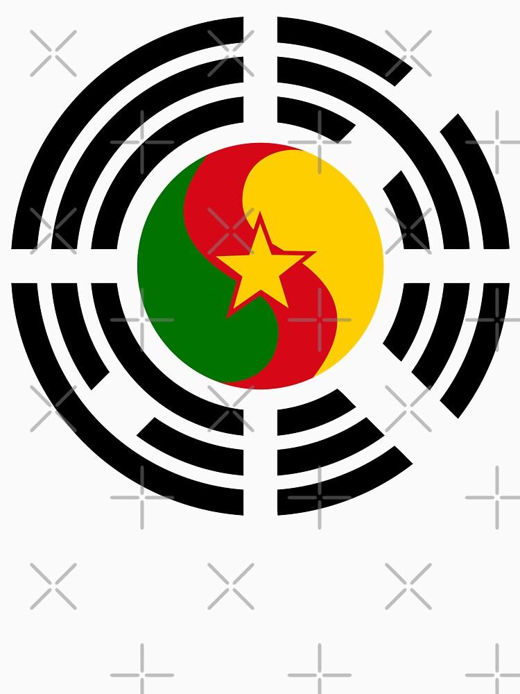 Korean Cameroonian Multinational Patriot Flag Series by carbonfibreme