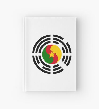 Korean Cameroonian Multinational Patriot Flag Series Hardcover Journal