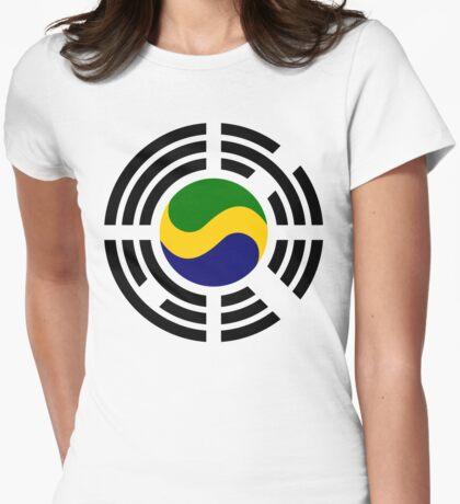 Korean Gabonese Multinational Patriot Flag Series T-Shirt