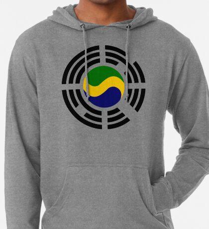 Korean Gabonese Multinational Patriot Flag Series Lightweight Hoodie