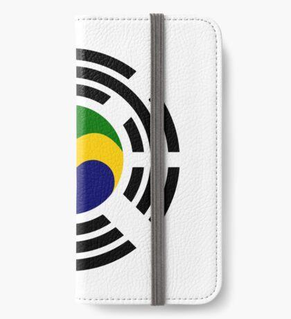 Korean Gabonese Multinational Patriot Flag Series iPhone Wallet