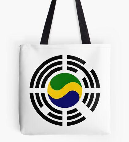 Korean Gabonese Multinational Patriot Flag Series Tote Bag