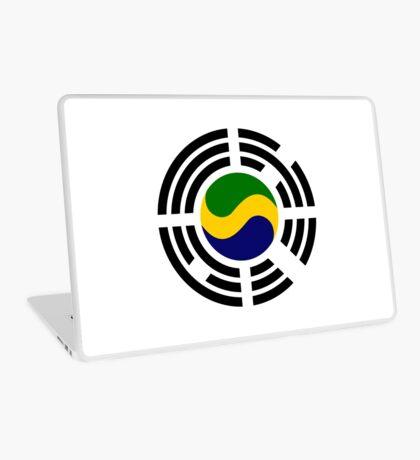 Korean Gabonese Multinational Patriot Flag Series Laptop Skin